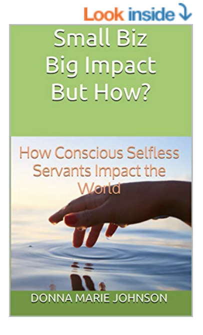 #SmallBizBigImpact Kindle Book